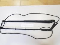 Рычаг щетки стеклоочистителя (монтаж) в сборе с омывателем (жеклёр) (620 мм)