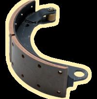 Колодка тормозная с фрикционными накладками и роликом н/о (Фритекс)