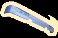 Бампер пластиковый задний (серый)