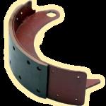Колодка переднего тормоза (задняя)